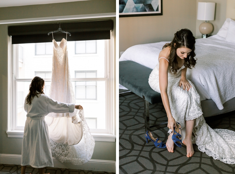 denver magnolia hotel bride photos