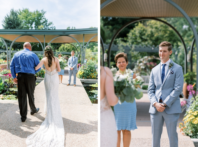 denver botanic gardens wedding ceremony