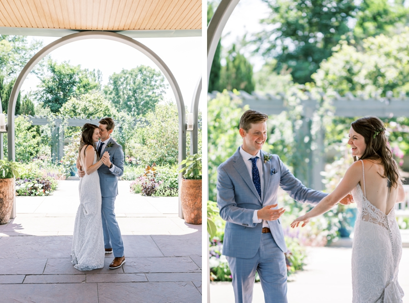denver botanic gardens annuals pavilion wedding reception